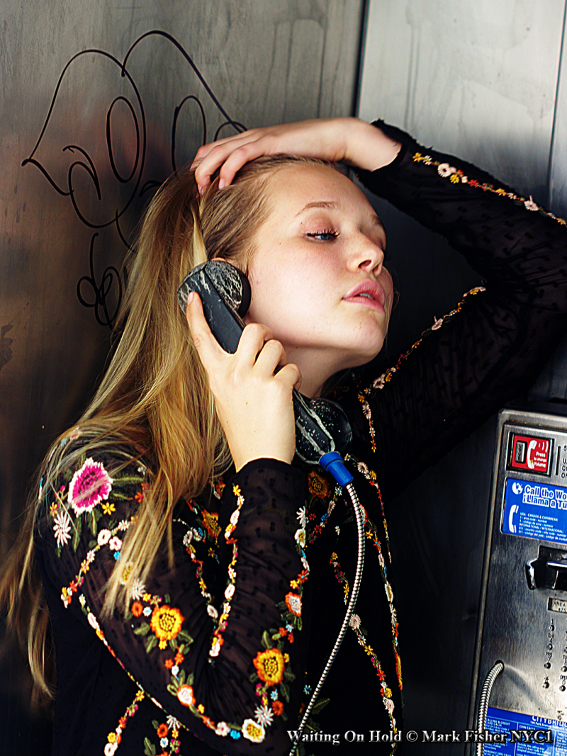 Waiting On Hold ©Mark Fisher NYC1-6169